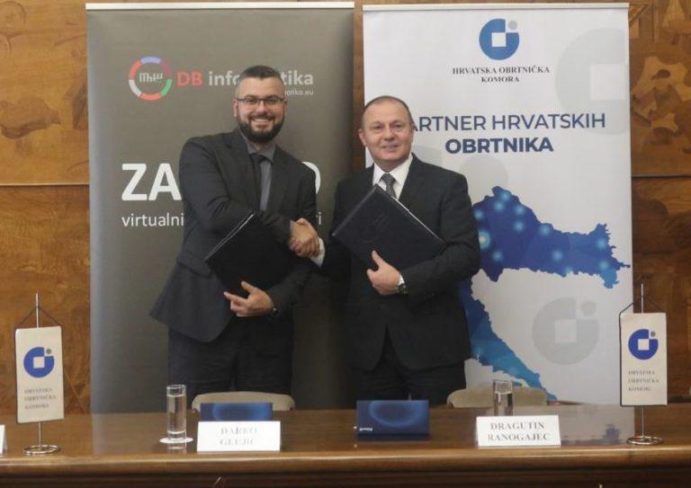 Povoljnija i kvalitetnija usluga razmjene elektroničkih računa za sve članove Hrvatske obrtničke komore