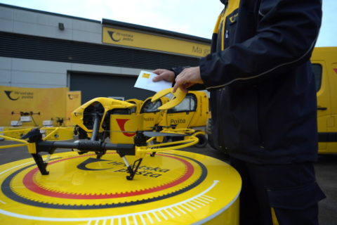 Hrvatska pošta dostavila pošiljku dronom