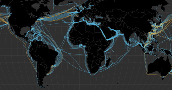 Velika ulaganja Gooogla i Facebooka u podmorske kabele