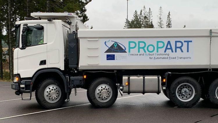 Scania testira autonomni kamion u složenom manevru u prometu