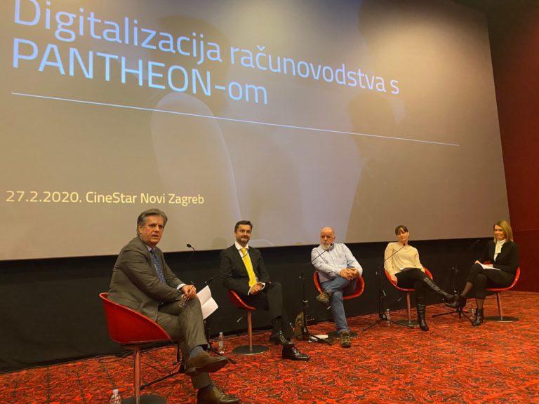 Na konferenciji DAN PANTHEON računovođa 2020 predstavljene nove aplikacije te uspješne prakse digitalizacije računovodstva