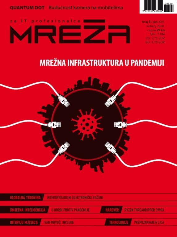 Mreža 05/2020: Mrežna infrastruktura u pandemiji