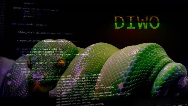 DIWO Python online @ hacklab01