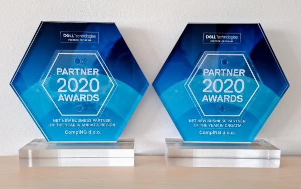 Dell Technologies dodijelio Compingu dvije nagrade