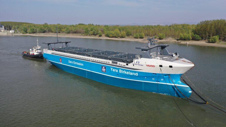 Prvi autonomni i električni kontejnerski brod na svijetu
