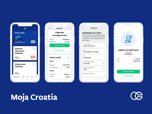 Moja Croatia, mobilna aplikacija Croatia osiguranje