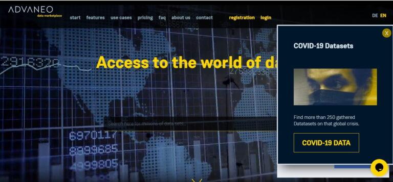 Prva globalna platforma za podatke s IDS standardom
