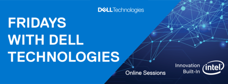 Najavljujemo seriju webinara Fridays with Dell Technologies