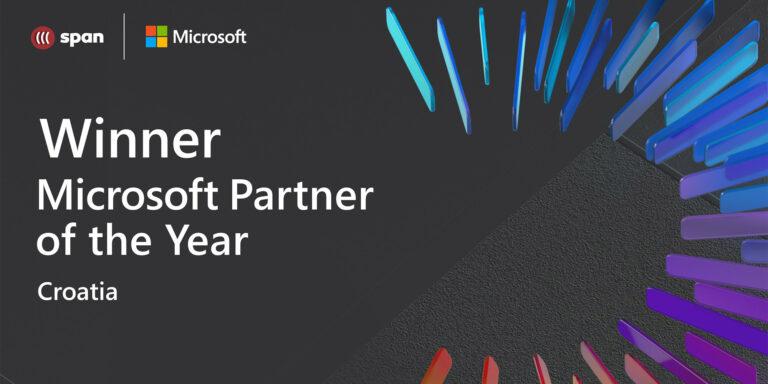 Span je proglašen Microsoftovim partnerom godine u Hrvatskoj