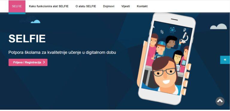 Unaprijeđeni SELFIE za digitalno i online obrazovanje