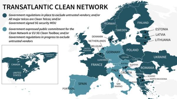 Još četiri europske države potpisale 5G sigurnosne sporazume sa SAD