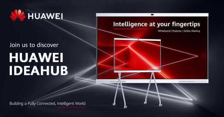Huawei predstavlja svoj IdeaHub – priključite se premijeri proizvoda uživo