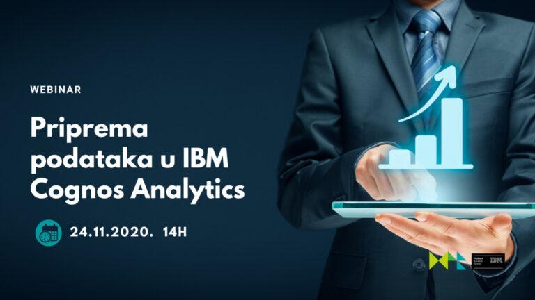 Megatrend poslovna rješenja – webinari o IBM Cognos Analyticsu te o DataOps i Cloud Pak for Data