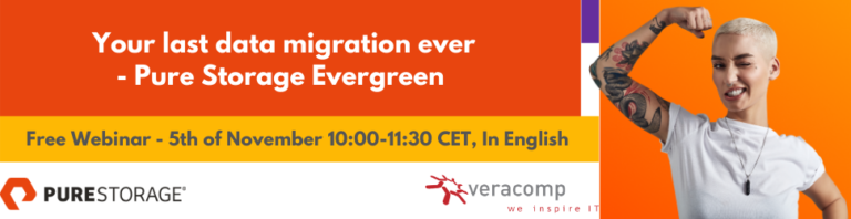 Najavljujemo webinar Pure Storage Evergreen by Veracomp