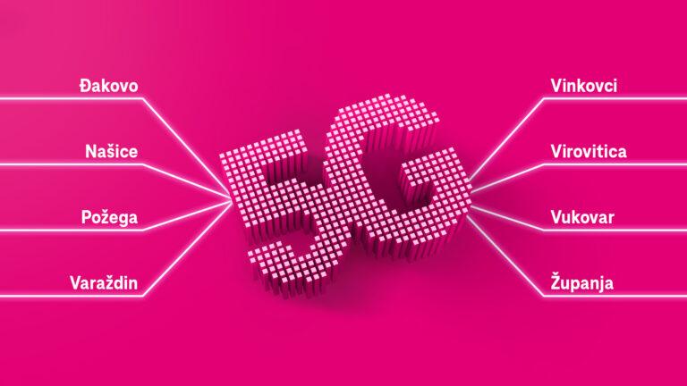 Hrvatski Telekom proširio 5G mrežu na još osam gradova