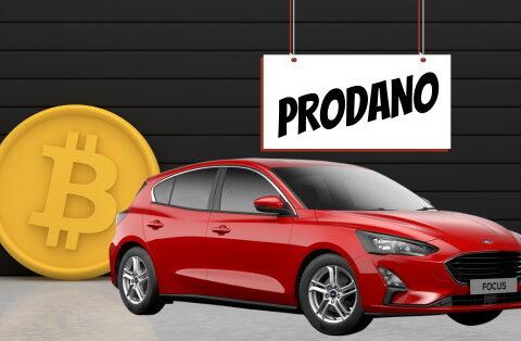 Prvi automobil u Hrvatskoj prodan za bitcoin