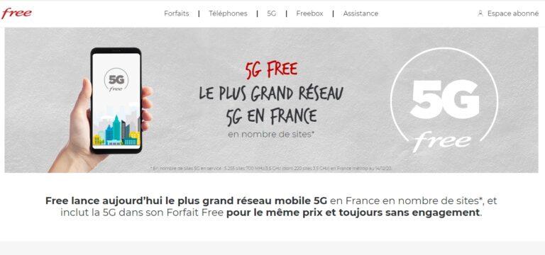 Free Mobile Franuska pokrenuo komercijalne 5G usluge
