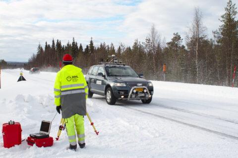 Autonomna vožnja pametnom cestom u Norveškoj