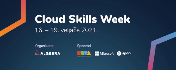 Cloud Skills Week tjedan besplatnih predavanja