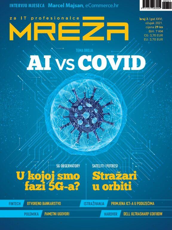 Nova Mreža: AI vs covid, stanje 5G-a, sateliti i potresi, polemike….