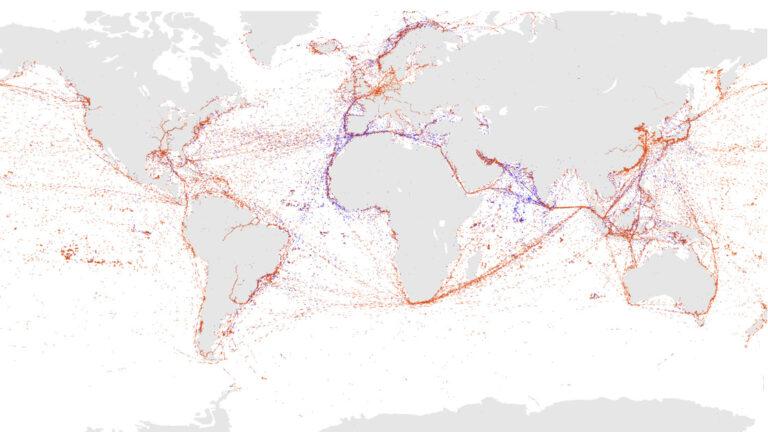 ESAIL-ovih dva milijuna poruka s brodova
