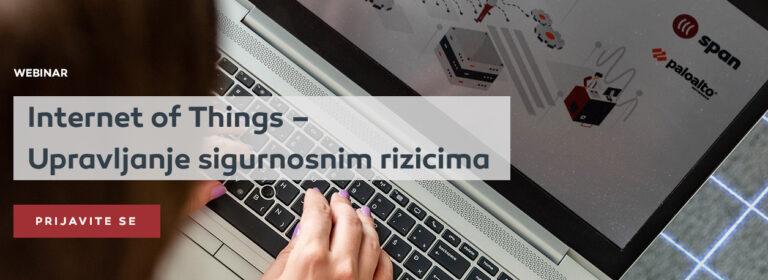 Spanov webinar: Internet of Things i upravljanje sigurnosnim rizicima