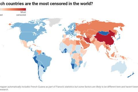 Globalni pregled ograničavanja Interneta